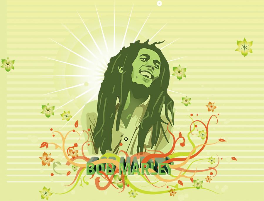 Bob Marley: Illustration