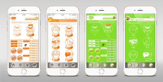 Pet Society- APP UI Design