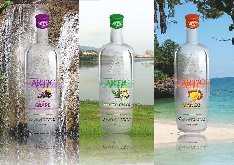 Artic - Bottle Label Design