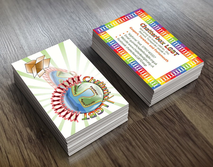 Chatterbox Group - Business Card Design