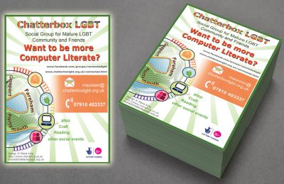 Chatterbox Computer Classes - Poster Design