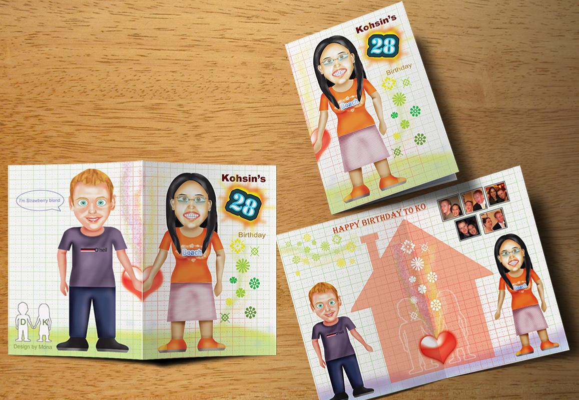 Custom Birthday Card Design