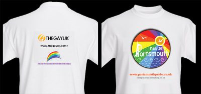 Portsmouth Pride 2015 : T-Shirt Design