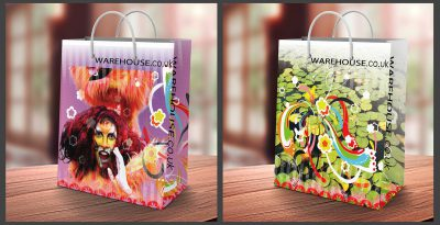 Fashion Brand - Shopping Bag Design - Completed Product
