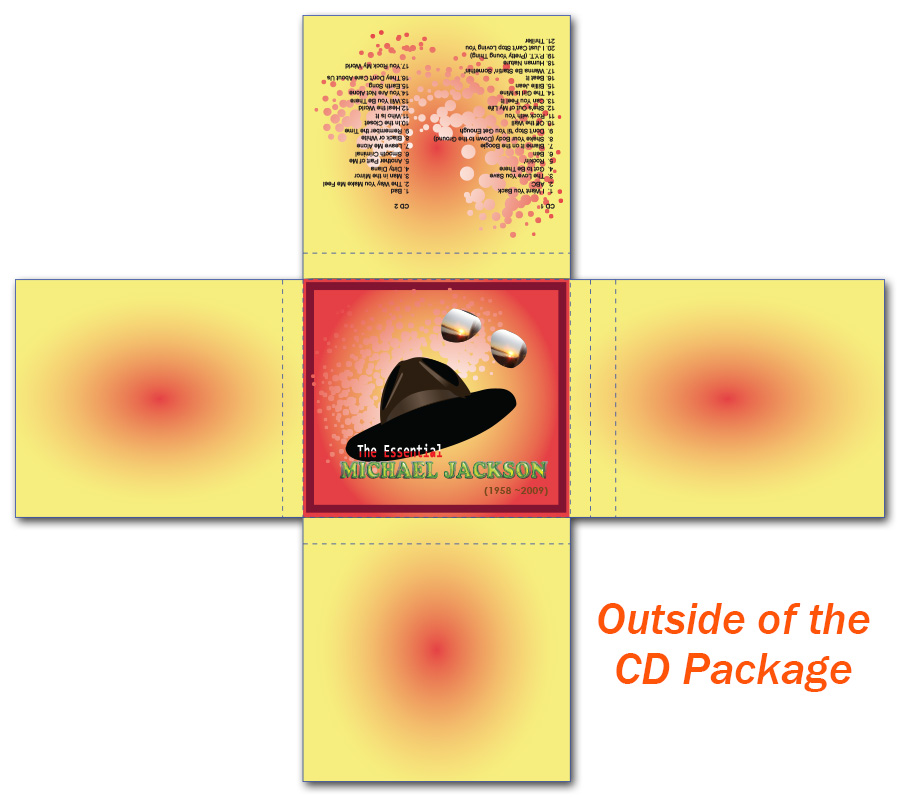 Michael Jackson: CD Package Design