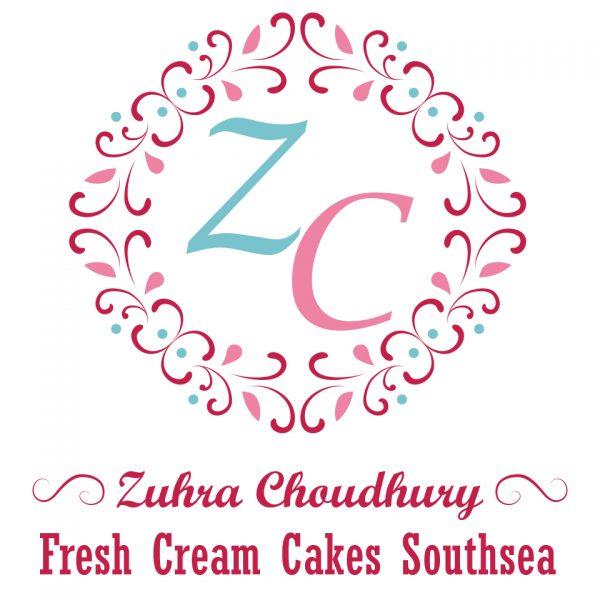 Fresh Cream Cake Southsea: Logo Design