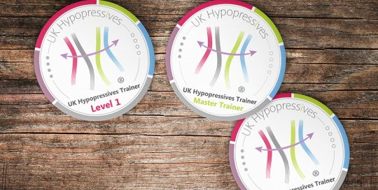 Badges design for UK Hypopressives