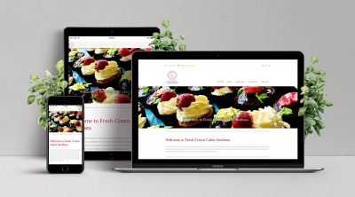 Responsive Web Design for Fresh Cream Cakes Southsea