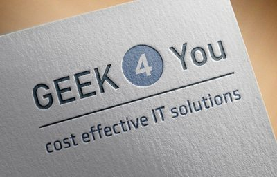 Logo design for Geeks 4 You