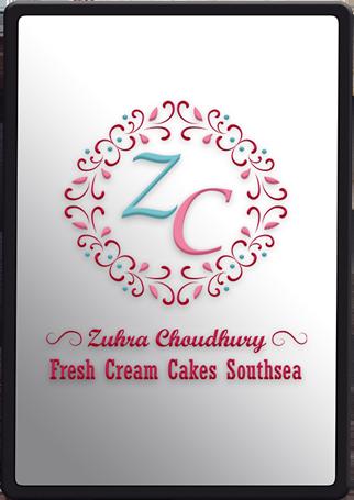 Logo Design Fresh Cream Cakes Southsea