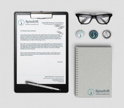 Spindrift letterhead design
