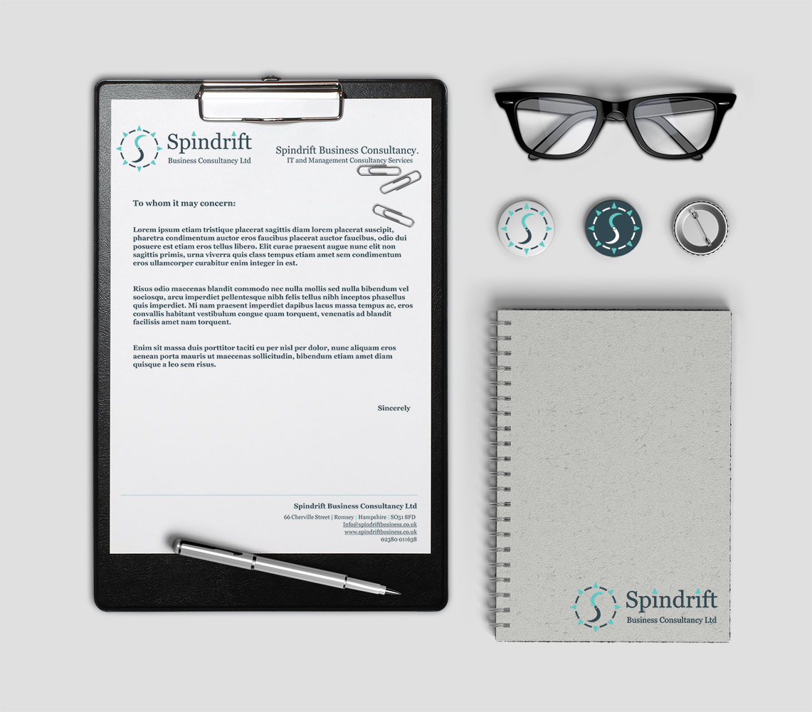 Spindrift Business Consultancy: Letterhead Design