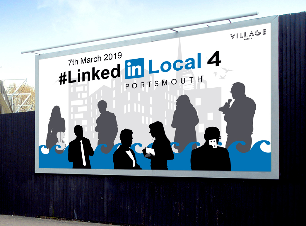 #LinkedIn Local Portsmouth: Re-branding