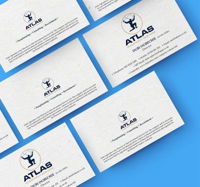 Atlas Investment Services: Business Card Design