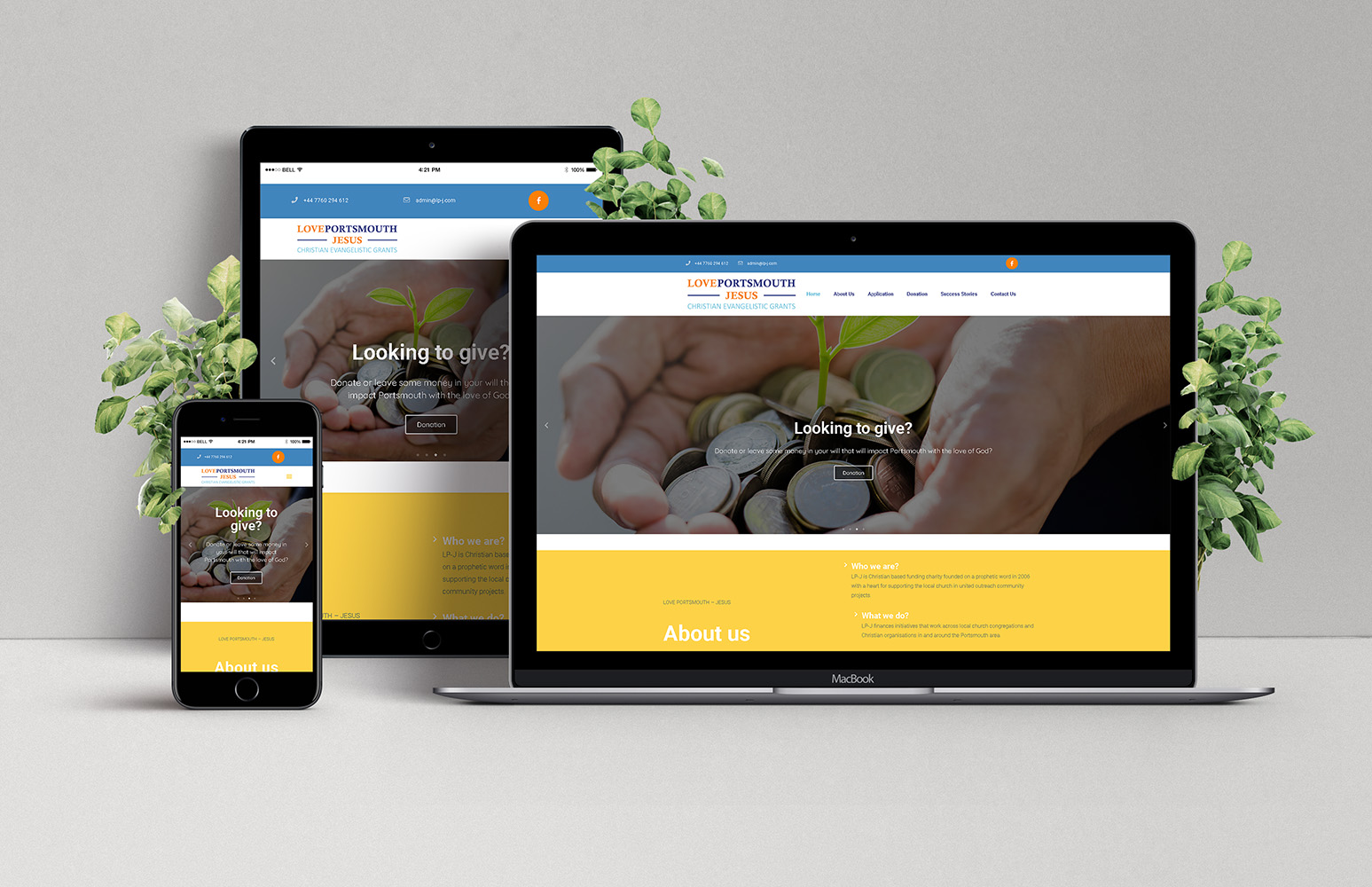 Love Portsmouth – Jesus: Responsive Web Design