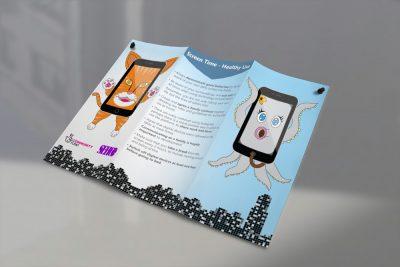 SEHCO : Tri-Fold Leaflet & Character Design